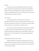 Marketing Research - Work Environment Proposal Essay