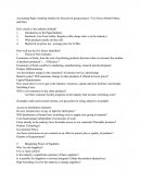 Syllabus - Accounting Paper Auditing Outline