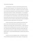 The Great Gatsby Reasearch Paper