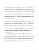 Apple Inc. Research Paper