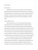 Business Research Paper - Merrill Lynch - Bank of America