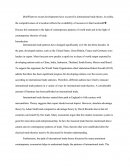 Essay in International Business