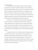 Ethical Perspective Paper