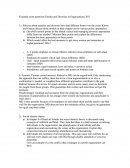 Example Exam Questions Gender and Diversity in Organizations 2011