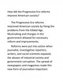 How Did the Progressive Era Reforms Improve American Society?