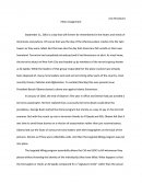 Ethics Assignment - Terrorism in America