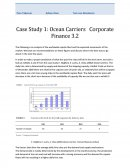 Ocean Carriers Corporate Finance