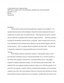 Phl 323 - Current Ethical Issue in Business Paper