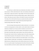 Fashion Marketing Dissertation Proposal