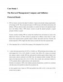 Case Study the Harvard Mgt Company and Inflation - Protected Bonds