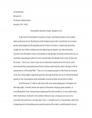 Thucydides Reaction Paper