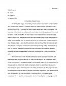 Comparative Analysis Essay - I Have a Dream and Letters from Birmingham Jail