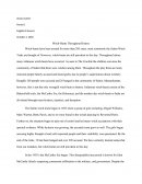 Compare and Contrast Witch Trials Essay