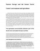 Eastern Europe and the Former Soviet Union's Environment and Agriculture