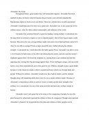 Alexander the Great Essay